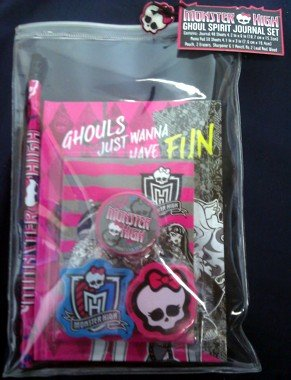 Monster High Ghoul Spirit Journal Set - 1