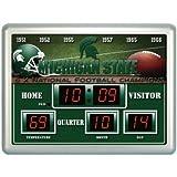 Michigan State Time / Date / Temp. Scoreboard