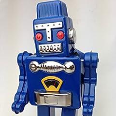 丸和貿易 ブリキ アンティークティントーイ ロボット 100371600