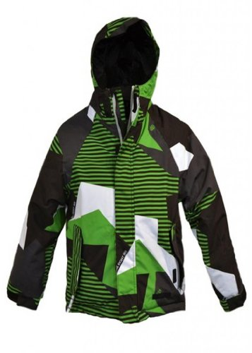 686 Mix Insulated Snowboard Jacket Grass Mix Camo XL -Kids