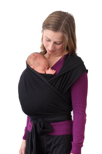 Wrapsody WrapDuO Baby Carrier, Black, Long