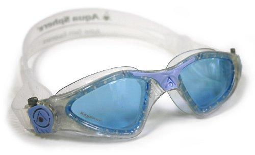 Aqua Sphere Kayenne Schwimmbrille LADY blau getöntes glas (silber blau transparent)