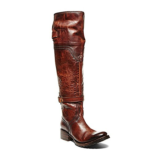 Freebird Womens Quebec Equestrian Boot,Cognac,6 M US