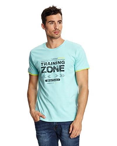 SPAIO ® T-Shirt Manica Corta Men Zone [Grigio Chiaro]
