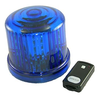 Battery beacon light