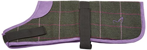 gor-pets-kensington-coat-tweed-check-14-inch-green