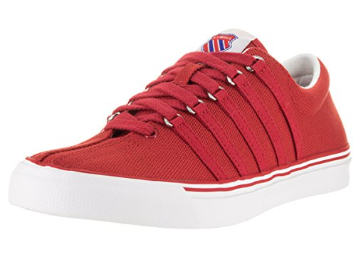 K-Swiss Women's Surf 'n Turf OG Ribbon Red/Classic Blue/White Canvas Sneaker 9 B (M)