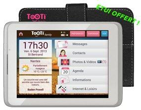 TOOTI Family - Tablette Senior WiFi - 9,7 pouces - avec Etui offert