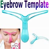 Professional Eyebrow Template Stencil Shaping DIY Tool