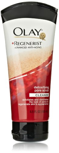 Olay Regenerist Detoxifying Pore Scrub Face Wash 6.5 Fl Oz (Pack of 2)