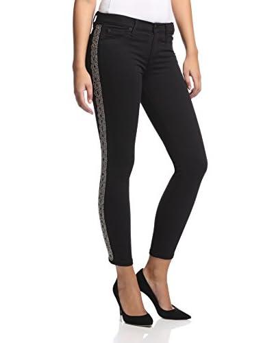 Hudson Women's Luna Embellished Super Skinny Jean