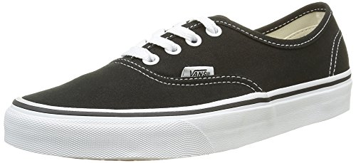Vans Authentic Sneaker, Unisex Adulto, Nero (black/white), 37