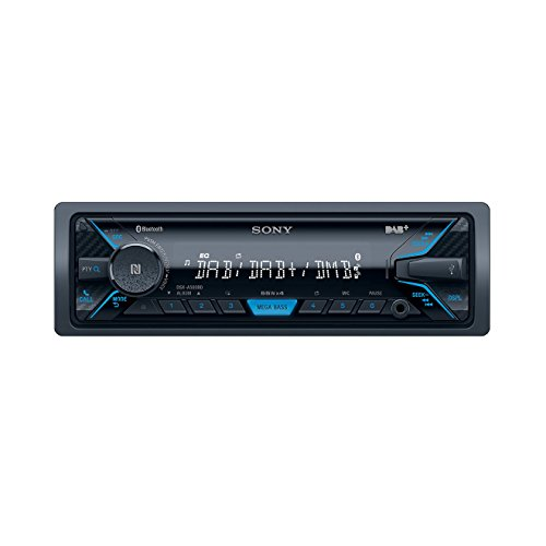 DSXA500BD.EUR DAB+ Mechaless Autoradio (Bluetooth, NFC, USB/AUX Anschluss, Apple iPod/iPhone Control Funktion) schwarz