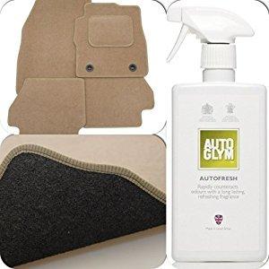 perfect-fit-beige-carpet-car-floor-mats-with-heel-pad-autoglym-autofresh-to-fit-hyundai-elantra-01-0