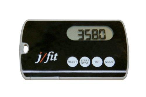 j/fit Deluxe Slim Pedometer