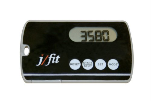 j/fit Deluxe Slim Pedometer JFIT B001KYS9IK