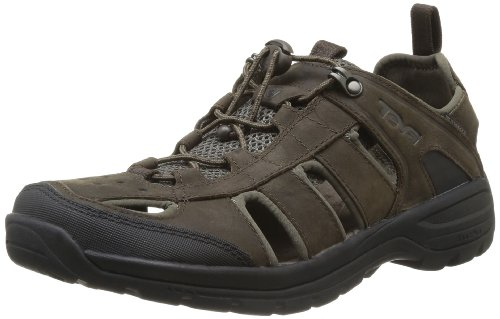 20 DECK. - Sandali sportivi Kimtah Sandal Leather, Uomo, Marron (Turkish Coffee), 45.5