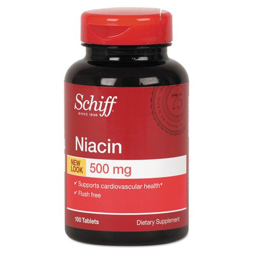 Schiff Flush-Free Niacin Tablet, 100 Count