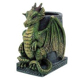 Nemesis - Portapenne per scrivania, motivo: drago Now Wyrm