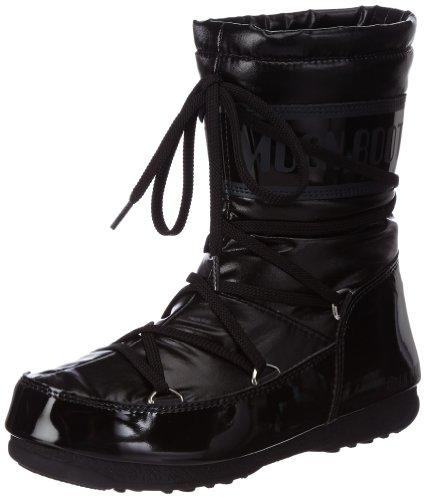 Tecnica - M-BOOT W.E.SOFT MID NERO, Stivali da neve donna, color Nero (Black 001), talla 37