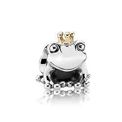 Pandora Two Tone Frog Prince Bead