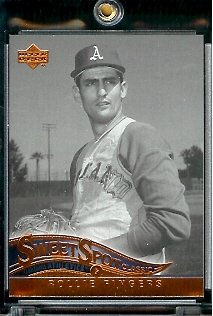 2005 Upper Deck Sweet Spot Classic Baseball Card #79 Rollie Fingers Oakland Athletics - Mint Condition - In Protective Display Case ! - Buy 2005 Upper Deck Sweet Spot Classic Baseball Card #79 Rollie Fingers Oakland Athletics - Mint Condition - In Protective Display Case ! - Purchase 2005 Upper Deck Sweet Spot Classic Baseball Card #79 Rollie Fingers Oakland Athletics - Mint Condition - In Protective Display Case ! (Upper Deck, Toys & Games,Categories,Games,Card Games,Collectible Trading Card Games)