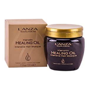 L'anza Keratin Healing Oil Intensive Hair Masque, 7.1 Fluid Ounce