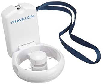 Low Price Travelon 3-Speed Folding Fan