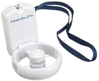 Travelon 3-Speed Folding Fan,White,One Size