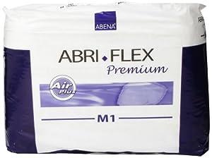 Abena Abri-Flex Premium Protective Underwear, Medium, M1, 14 Count