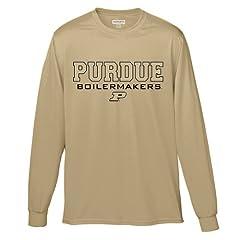 Purdue Boilermakers Athletic Long-Sleeve Tee by University Spirit