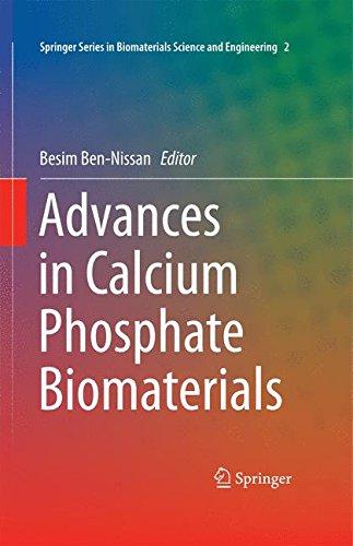 Advances In Calcium Phosphate Biomaterials (Springer Series In Biomaterials Science And Engineering)