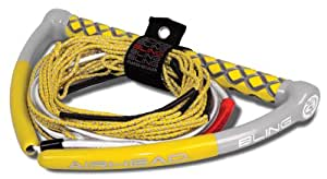 AIRHEAD BLING SPECTRA WAKEBOARD ROPE 75' 5 SECTION