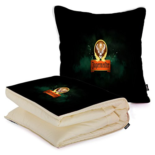 i-famuray-custom-car-travel-square-pillow-with-blanket-2-in-1-alcohol-jagermeister