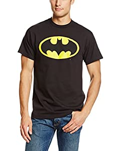 DC Comics Men's Batman Basic Logo T-Shirt at Gotham City Store