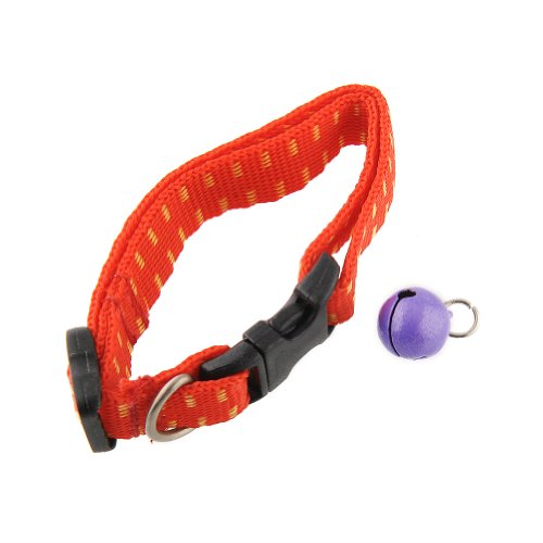 Flea Tick Mite Collar Attached Neck Bell for Cat Control / Remedy ...