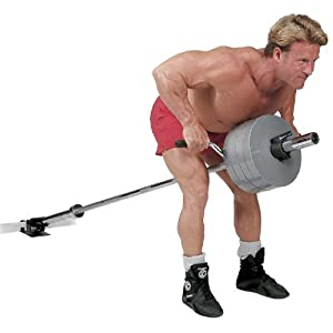 Body Solid T-Bar - Plateforme de fixation pour barres et poids
