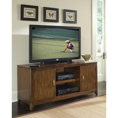 Cheap Paris 56″ Entertainment TV Stand in Mahogany (88-5540-12)