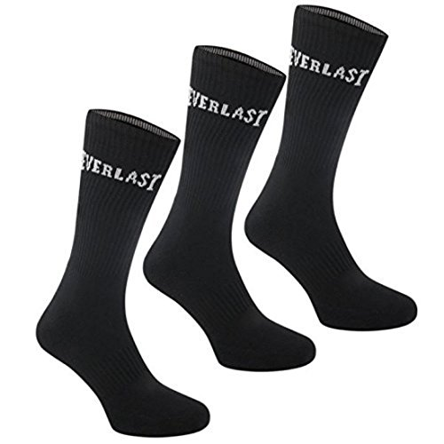 everlast-3-pack-crew-socksmens-7-11black