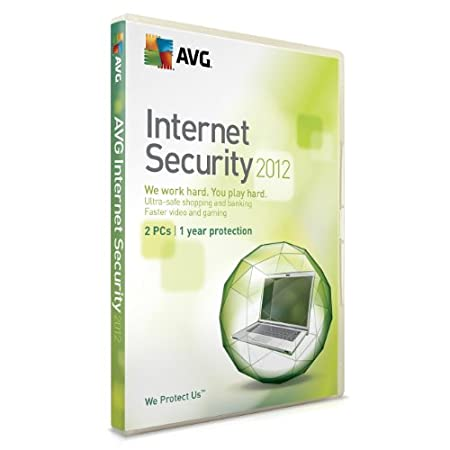 AVG Internet Security 2012, 2 PC, 1 Year License (PC)