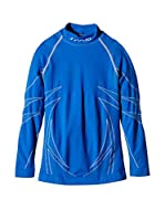 SPAIO ® Camiseta Técnica Thermo Kids' Long Sleeve Shirt W01 (Azul)