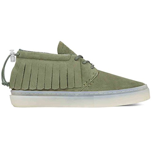 Clear Weather THE ONE-O-ONE-GREEN SUEDE (8US)