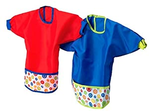 kladd prickar bib assorted sets of red and