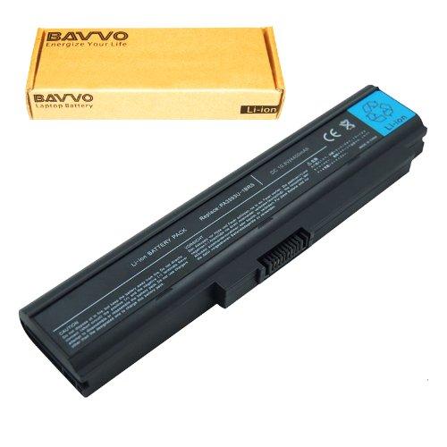 TOSHIBA PA3593U-1BAS PA3594U-1BRS PABAS111 PA3595U PA3595 PA3595U-1BRS Laptop Battery - Bonus Bavvo� 6-cell Li-ion Battery