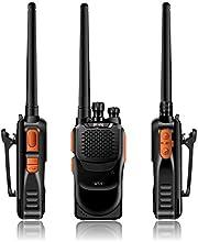 Pofung GT-1 Two-Way Ham Radio UHF 400-470MHz 16 Channels 2 Pack Orange