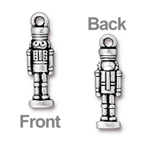 antiqued-silver-plated-lead-free-pewter-nutcracker-charm-27mm-1