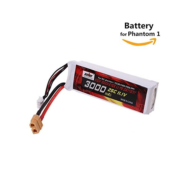 111V-3000mAh-LiPo-Replacement-Battery-XT-60-Connector-Plug-for-DJI-Phantom-FC40-F450-F550-Cheerson-CX-2