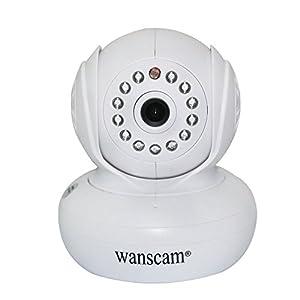 Amazon.com : Kobwa(TM) Wanscam Wi-Fi P2P Baby Monitor IP Pan Tilt IR 3