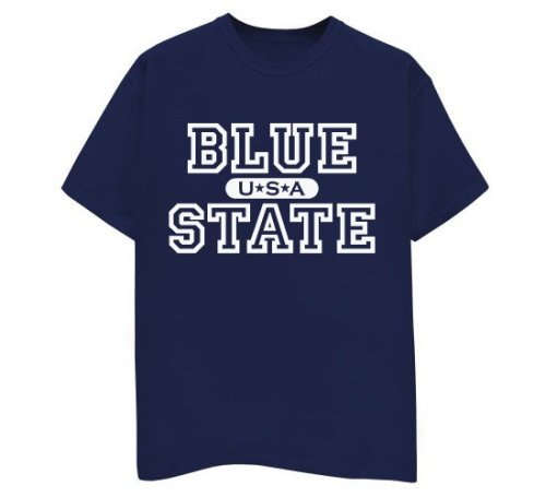Blue State USA - Buy Blue State USA - Purchase Blue State USA (Direct Source, Direct Source Shirts, Direct Source Womens Shirts, Apparel, Departments, Women, Shirts, T-Shirts)