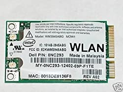 INTEL 3945ABG DELL 0NC293 WIFI 802.11 A B G MINI PCIE INTERNAL NETWORK CARD USA